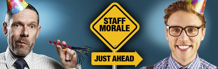 unconventional ways to boost staff morale